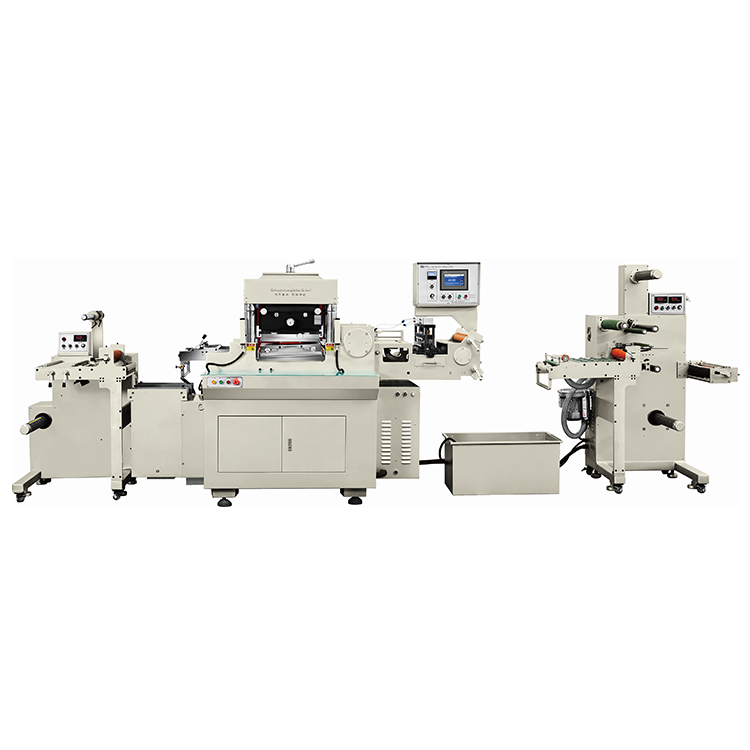 title='RBJ-330A-460A-550A Single station high speed hot stamping and die cutting machine'