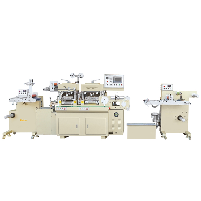 RBJ-280B-330B-420B Double stations high speed hot stamping and die cutting machine