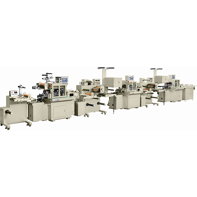 title='RBJ-330A (Triple type) Combined high speed die cutting machine'