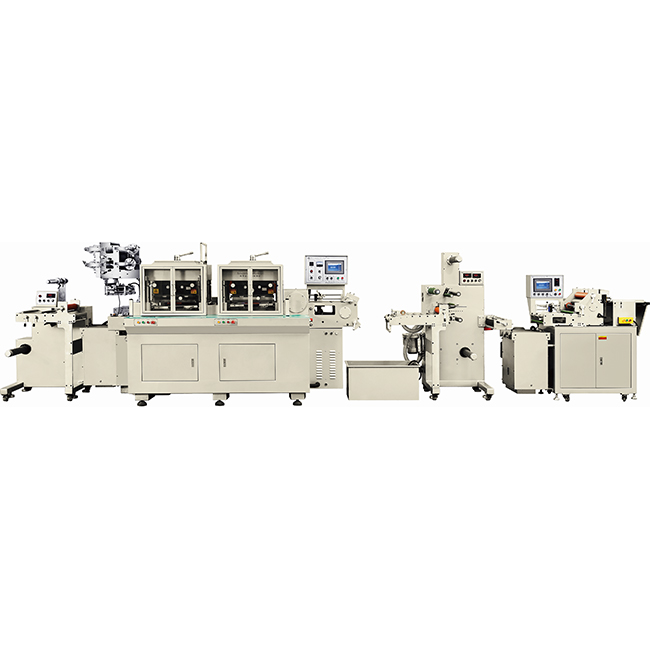 title='High speed die cutting machine with detailed options'