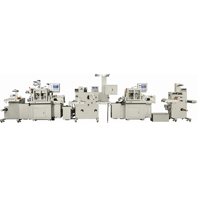 title='RBJ-CHD-330A Combined high speed hot stamping and die cutting machine'