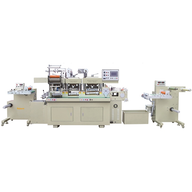 RBJ-330C Three stations high speed hot stamping, embossing and die cutting machine